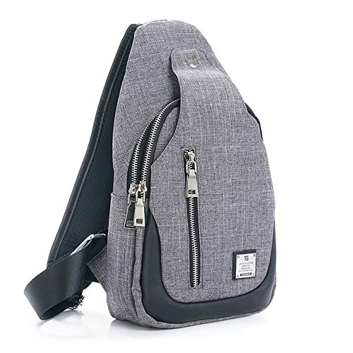 Sling Bag Chest Shoulder Backpack Crossbody Bags for Men Women Travel Outdoors...