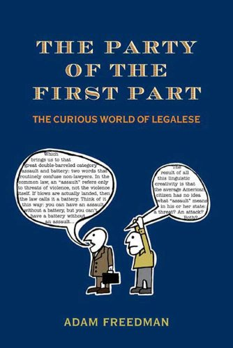 The Party of the First Part: The Curious World of Legalese by Henry Holt and Co.