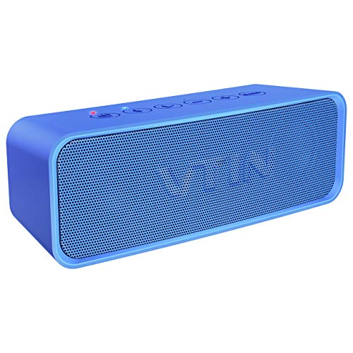 Vtin R2 Portable Bluetooth Speaker, IPX6 Waterproof Bluetooth Speaker with Rich Bass, 14W Loud HD Sound, 20H Playtime, Built in Mic. Perfect Wireless Speaker Compatible for iOS Android