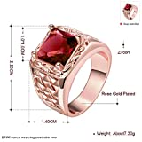 14mm-Mens-Fashion-Squares-Rings-with-Cubic-Zirconia-Ruby-Size