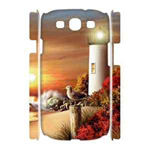 Lighthouse Phone Case For Samsung Galaxy S3 I9300 [Pattern-1]