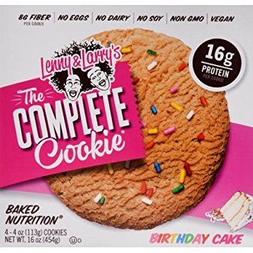 Lenny Larrys The Complete Cookie Birthday Cake 4 Little Cookies