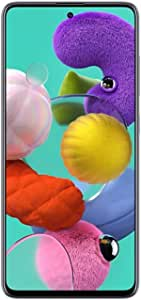 Samsung Galaxy A51 128GB (6.5 inch) Display Quad Camera 48MP A515U Black Unlocked (Renewed)