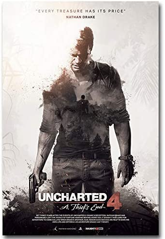 Amazon Com Uncharted 4 A Thiefs End New Game Poster No Frame 24