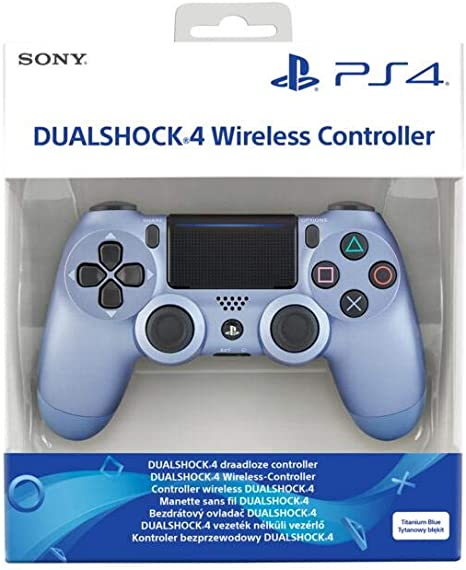 Sony - DualShock 4 Titanium Blue: Amazon.es: Videojuegos