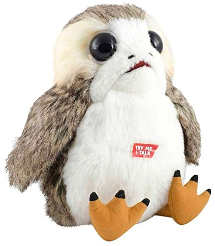 Original Porg Talking Squawking Plush Last of the Jedi