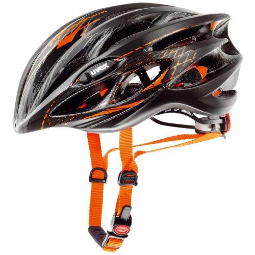 Uvex 4101701515 Race 1 Rennradhelm Gr. xxs-s 51-55cm black-orange