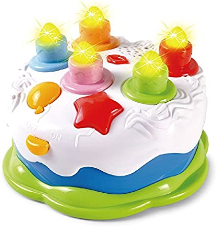 Tremendous Baoli Blowing Candles Birthday Cake Toy Food Play Set For Kids Funny Birthday Cards Online Inifodamsfinfo