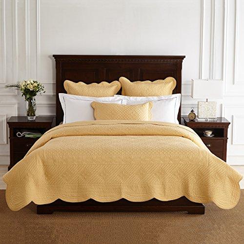 Calla Angel 99-SORP-OV57 Sage Garden Luxury Pure Cotton Quilt, 108