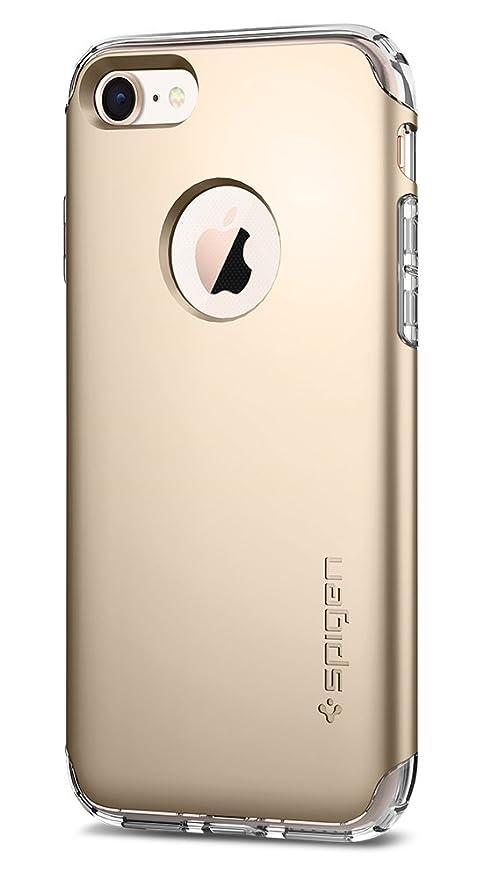 7 opinioni per Spigen Cover iPhone 7, Cover Custodia [Protezione Dual-Layer & Transparente TPU]