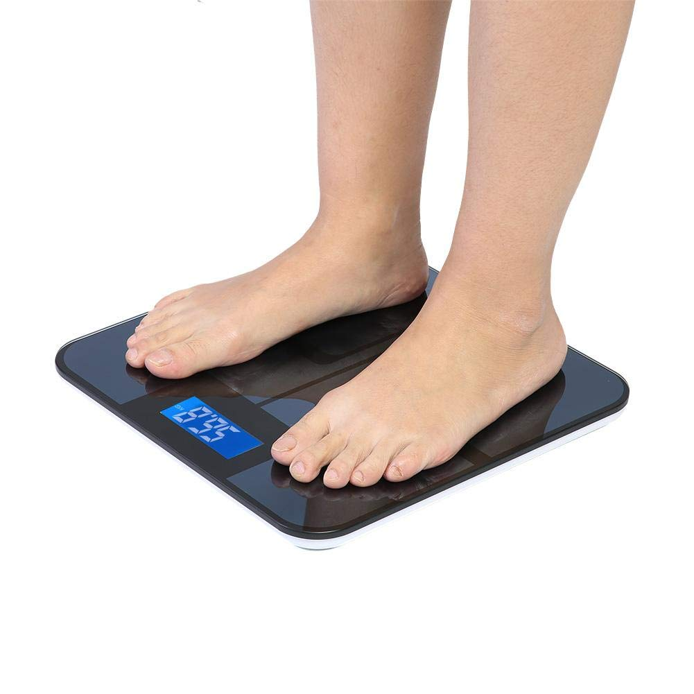 Bluetooth Body Fat Scale Smart Weighing Smartphone link Bluetooth ...