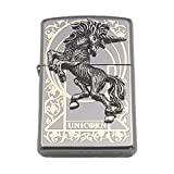 [Zippo] Unicorn Lighter / Genuine Authentic / Original Packing (6 Flints set as a gift)