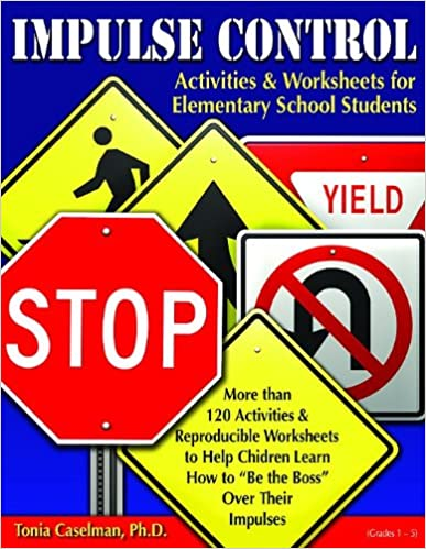 Impulse Control Activities & Worksheets for Elementary Students W ...