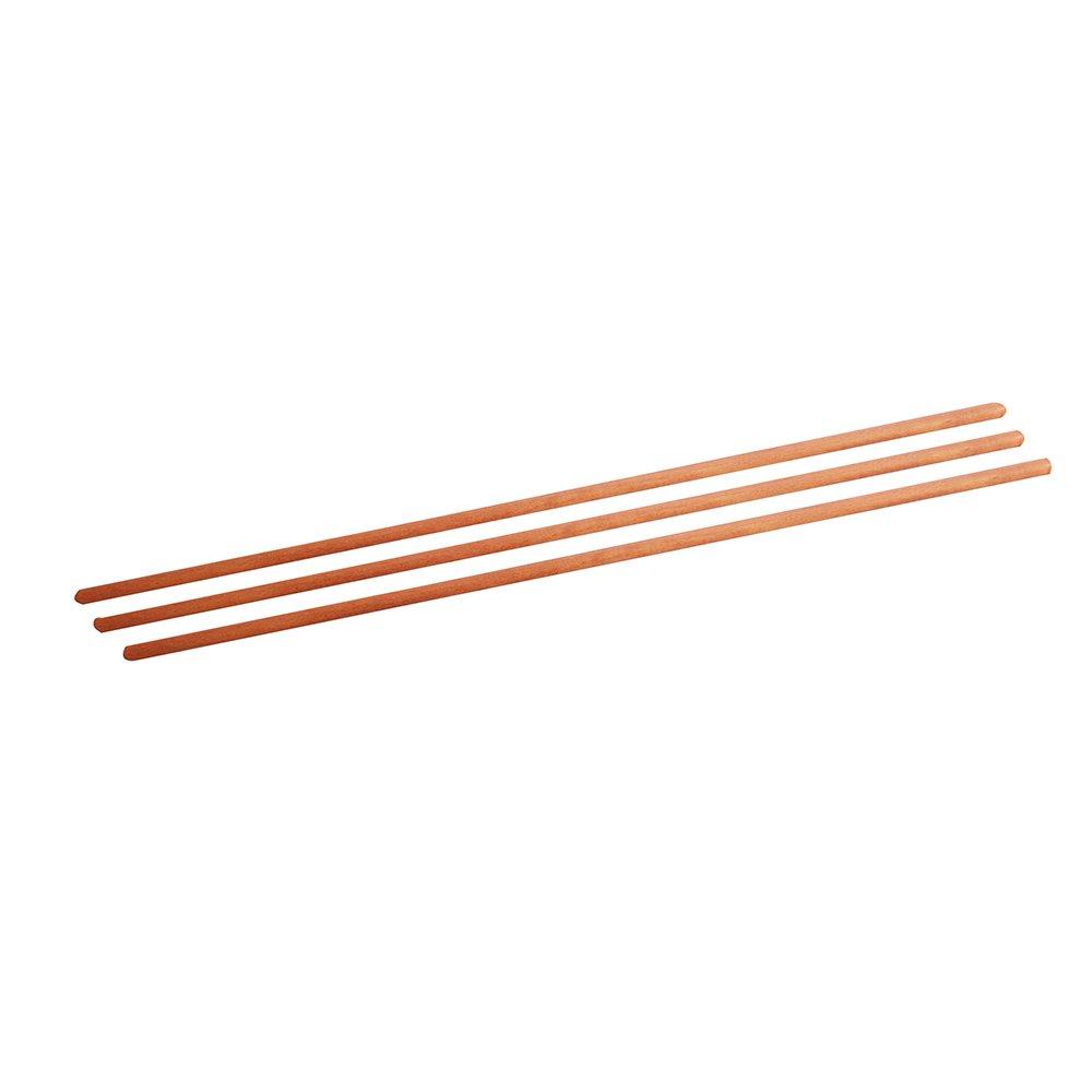 Silverline 5' x 1-1/8'' Diameter Broom Handles, 30-Piece, 149449