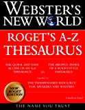 Webster's New WorldTM Roget's A-Z Thesaurus, Charlton Laird, The Editors of the Webster's New World Dictionaries, 0028631234
