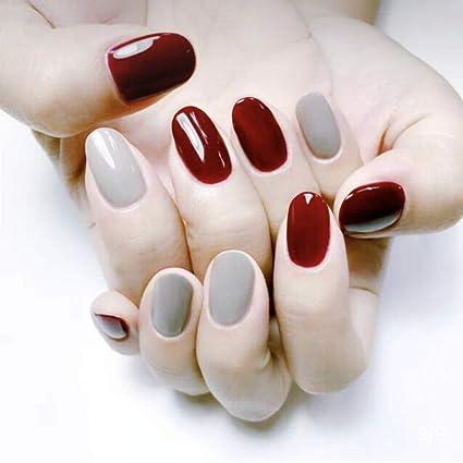 Amazon.com: 24 uñas postizas con 12 tamaños diferentes ...