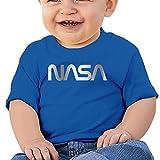 Baby Infant NASA Platinum Logo Cute Short-sleeve Tee