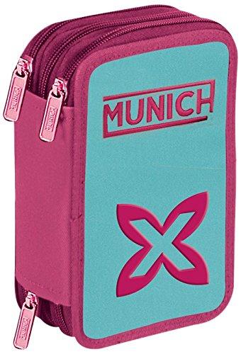 Munich Colors Estuches, 23 cm, 1 Litro, Azul: Amazon.es ...
