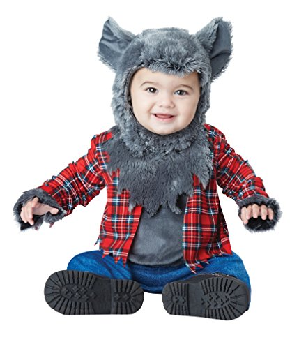 California Costumes Baby Boys' Wittle Werewolf Infant, Multi, 12 to 18 (Infant Halloween Costumes Wolf)