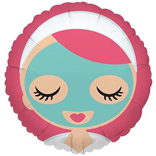 Little Spa Salon Makeover Party Supplies - Foil Balloon