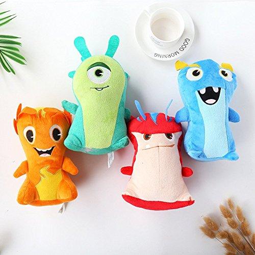 20cm Slugterra Plush Doll Toys Bludgeon Burpy Doc Joules Anime Slugterra Plush Toys Soft Stuffed Animal Dolls For Kids ()