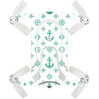 Skin For ZEROTECH Dobby Pocket Drone – Teal Designer | MightySkins Protective, Durable, and Unique Vinyl Decal wrap cover | Easy To Apply, Remove, and Change Styles | Made in the USA