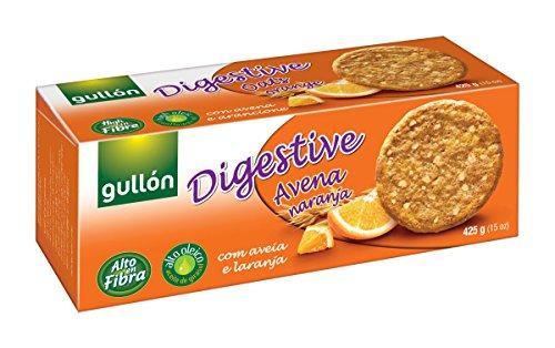 Gullón – Galleta Avena Naranja Digestive 425g