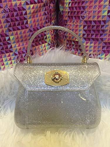 Saoga Gelatina Color Caramella Piccolo Borsa Bag A Silver Flash Trasparente Tracolla Fresco Sacchetto Messenger Mini fRaqfxnwr