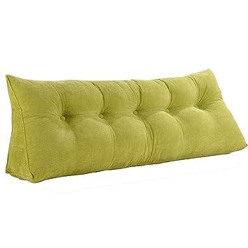 Amazon.com: AIDELAI Respaldo triangular, almohada larga ...
