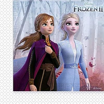Disney Frozen 2 99483 Napkins Blue