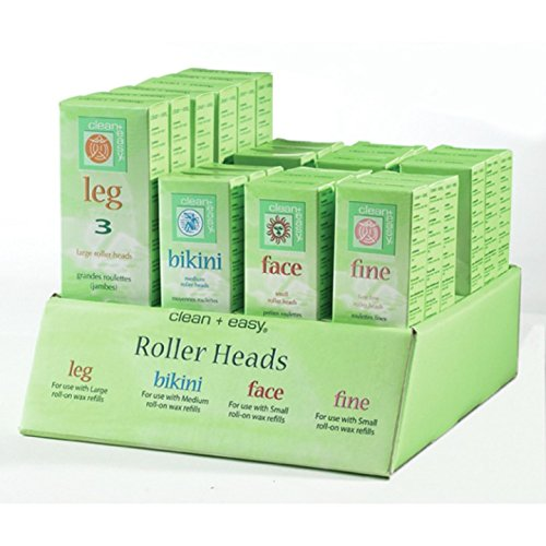 Clean + Easy Roller Head Display, 24 Count by Clean + Easy