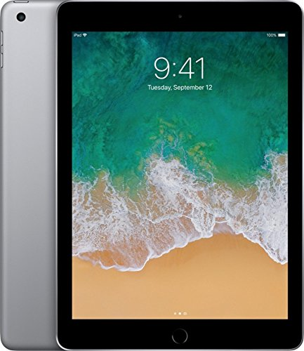 2017 Latest Model Apple iPad 9.7-inch Retina Display with WIFI, 32GB, Touch ID, Apple Pay, Space Gray