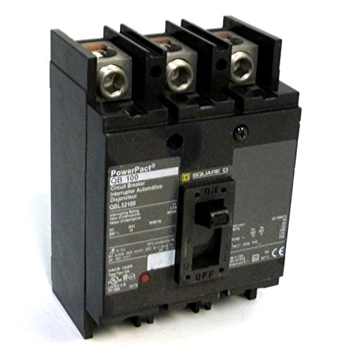 3P Standard Circuit Breaker 125A 240VAC by Square D