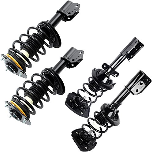 cciyu Complete Struts Shock Absorbers Fits for 00-11 Chevrolet Impala, 00-07 Chevrolet Monte Carlo, 98-02 Oldsmobile Intrigue 171661 171671L 171671R Quick Struts Assembly Front Rear Pair Struts