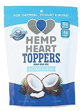Manitoba Harvest Hemp Heart Toppers, Cocoa Coconut