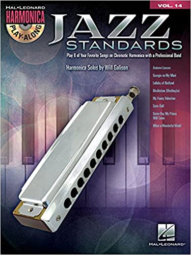 Amazon.com: Jazz Standards: Harmonica Play-Along Volume 14 ...