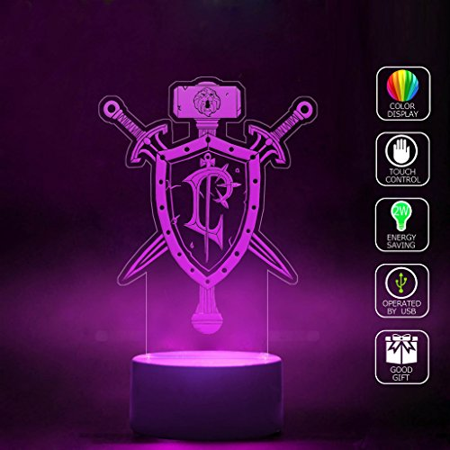 sanjie-human-crest-wow-logo-3d-lamp-home-bedroom-decorative-night-light-usb-cable-smart-touch-button