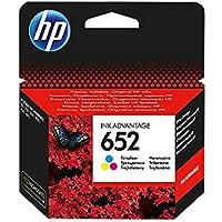 1x oryginalny wkład atramentowy HP F6V24AE HP 652 HP652 do HP Deskjet Ink Advantage 115 - Color - Wydajność: ok. 200…