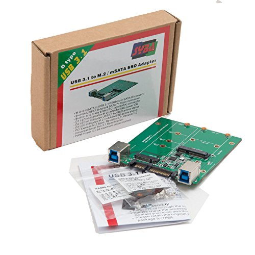 Syba 2.5-inch SATA to mSATA SSD Adapter, Use as External USB 2.0 Storage Device (SD-ADA40077) by Syba (Image #8)