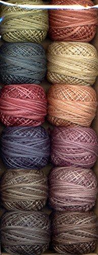 Valdani Perle Cotton Embroidery Thread Size 8 European Heirloom Collection