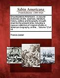 Encyclopaedia American, Francis Lieber, 1275795560