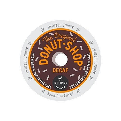 The Original Donut Shop Decaf K-Cups for Keurig Brewers, 44 Count (22 Count, Pack of 2) - Packaging May Vary (Decaf K Cups Donut Shop)