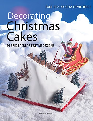 Pink Christmas Decorating Ideas - Decorating Christmas Cakes: 14 Spectacular Festive Designs