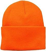 Wigwam Men's 1017 Acrylic Watch Cap, Blaze Orange, One Size