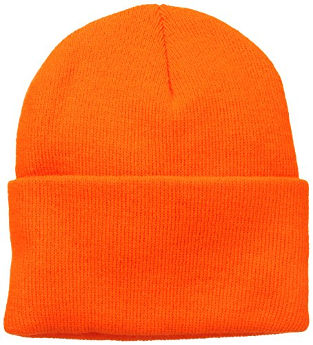 Wigwam Men's 1017 Acrylic Watch Cap, Blaze Orange, One Size