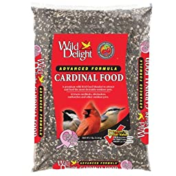 Wild Delight 376070 Advanced Formula Cardinal Food, 7 Pounds