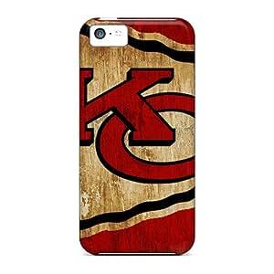 LifeLeader TDnRK9316zbXsI Case For Iphone 5c With Nice Kansas City Chiefs Appearance