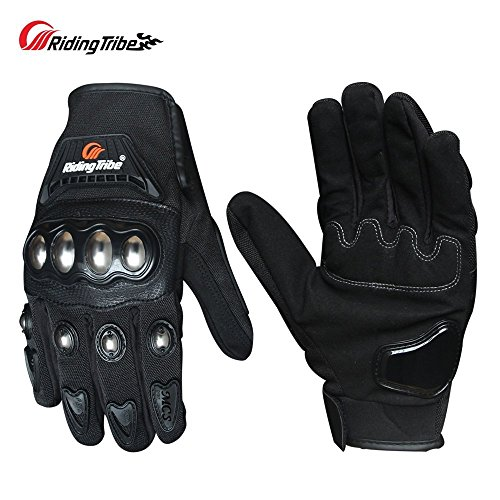 Riding Tribe Riding Gloves With Protective Gear For Adventure Touring MCS-29B XL