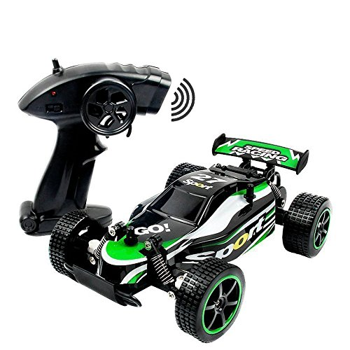 FSTgo Fast RC Cars Off Road 1:20 2WD Remote Control Trucks for Adults Radio Controlled Drift Race Buggy Hobby Car (Green)