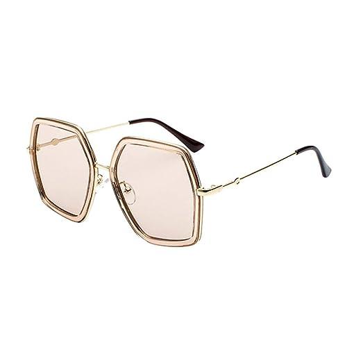 Amazon.com: Nayi - Gafas de sol unisex con montura grande de ...